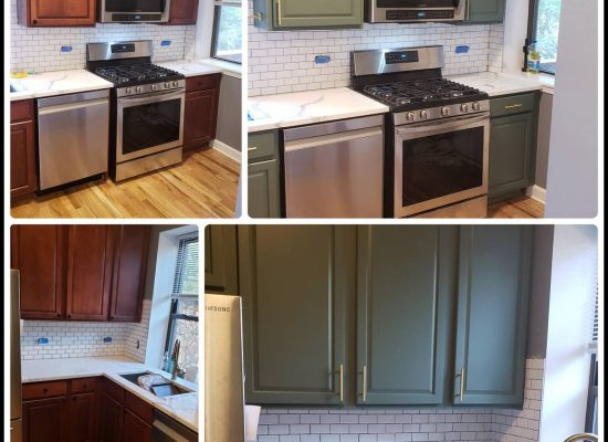 Chicago cabinets refinishing. Painters Chicago. Wallpaper. Contractor. West Town. Wicker Park. Lincoln Park. Gold Coast