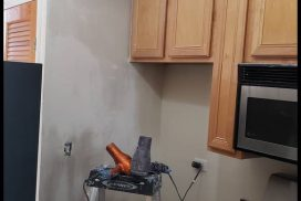 Chicago painters. Drywall water damage repair. Kitchen. Windy City Painters. West Town. Wicker Park. Lincoln Park. Gold Coast. West Loop. Logan Square