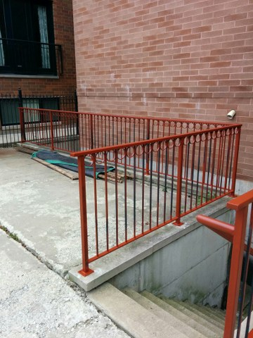Wrought Iron Fences And Porches Refinishing Chicago