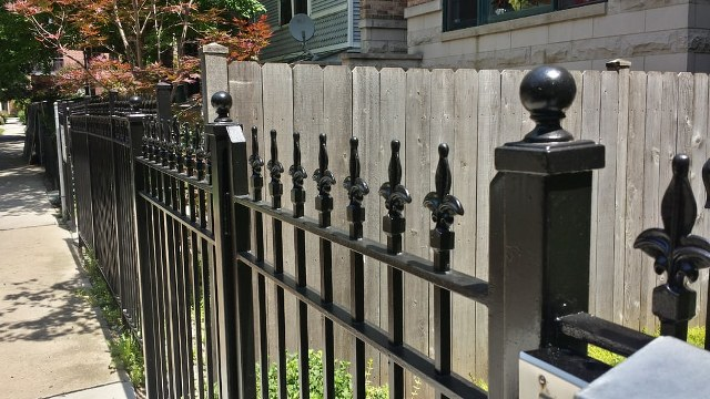 Wrought Iron Fences And Porches Refinishing Chicago Painters
