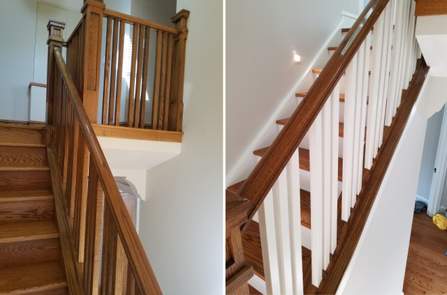 Interior Painting. Trims, Doors, Spindles, Risers