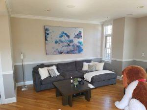 West Town condominium painting. Chicago painters.