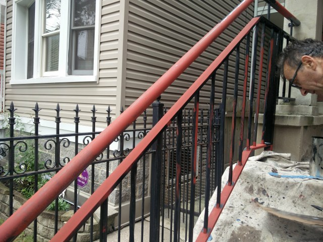 West Town Back Porch Fence And Railings