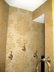 Chicago wallpaper installer. Accent wall. Powder room wallcovering. Grasscloth. Commercial wallpaper. River North. West Town. Lincoln Park. Wicker Park. West Loop. Chicago painting contractor.